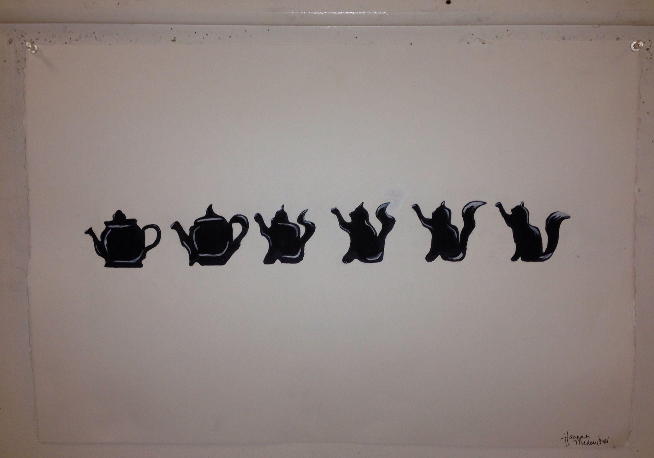 Teapot cat