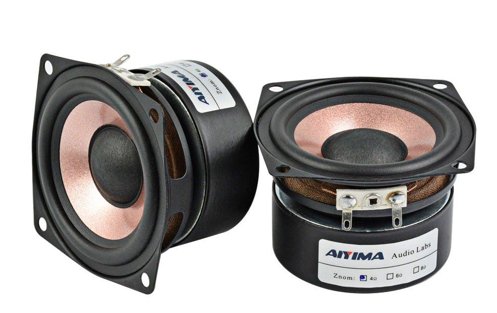 """For Sony 2.5/"""" inch 4Ohm 10W Full Range Speaker Stereo Woofer Loudspeaker Horn"""