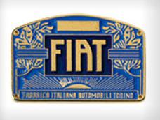 Vintage Fiat Logo 1901 Logo Evolution Fiat Logo Fiat