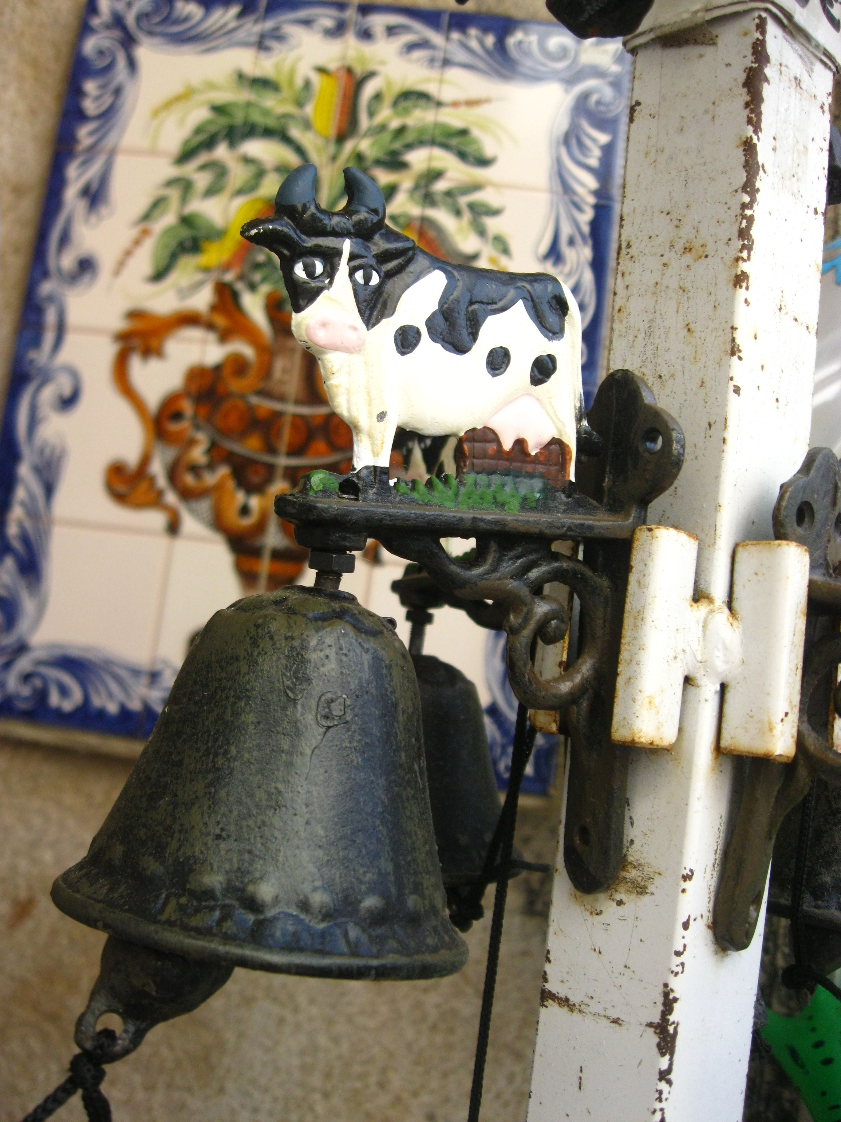 Just a cow bell in Cascais, Portugal.