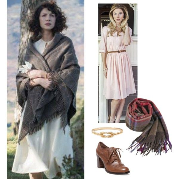 """""""Caitriona Balfe as Claire Randall"""" by dressme4less on Polyvore"""