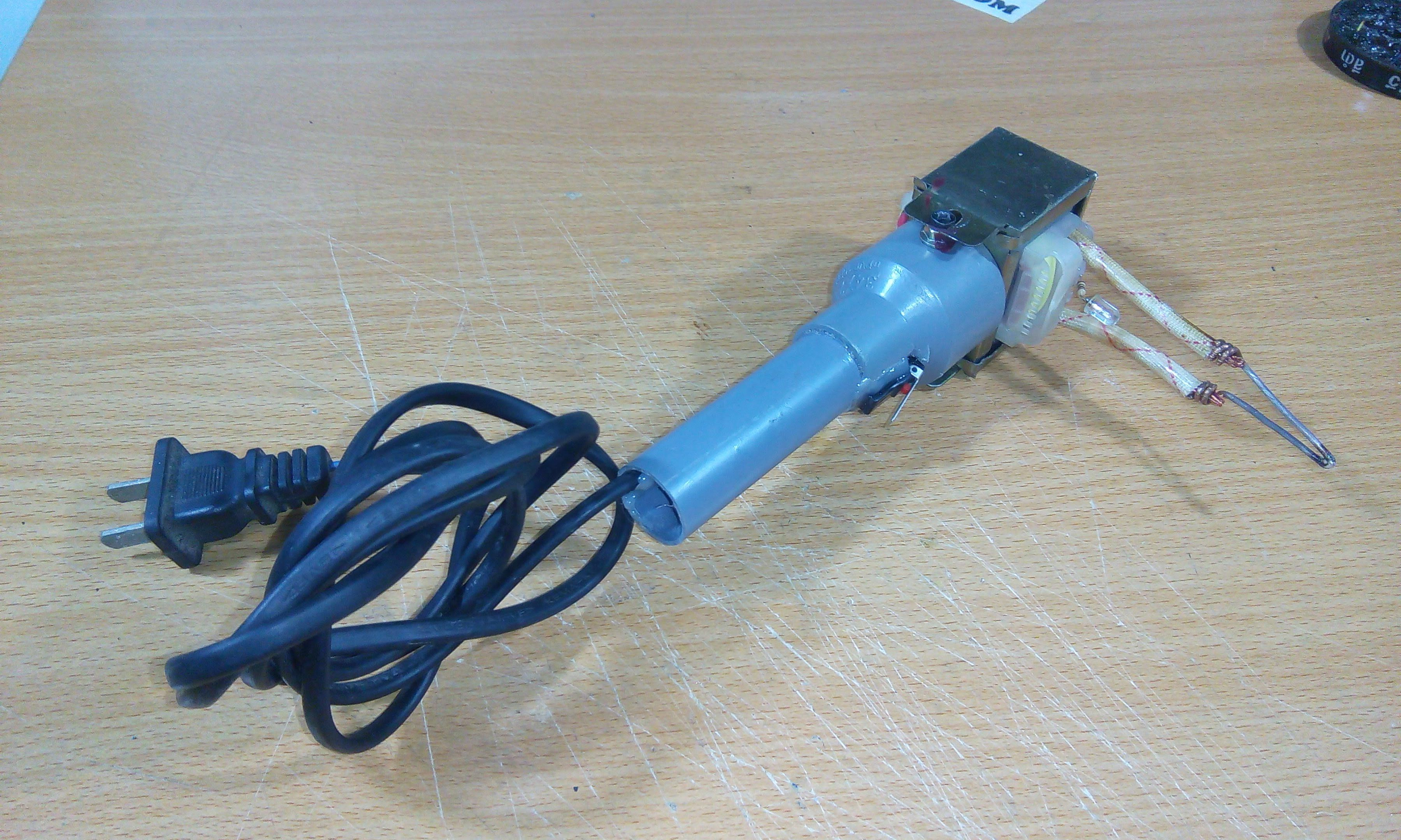 Tutorial] Homemade DIY - How To Make Soldering Gun From transformers ...