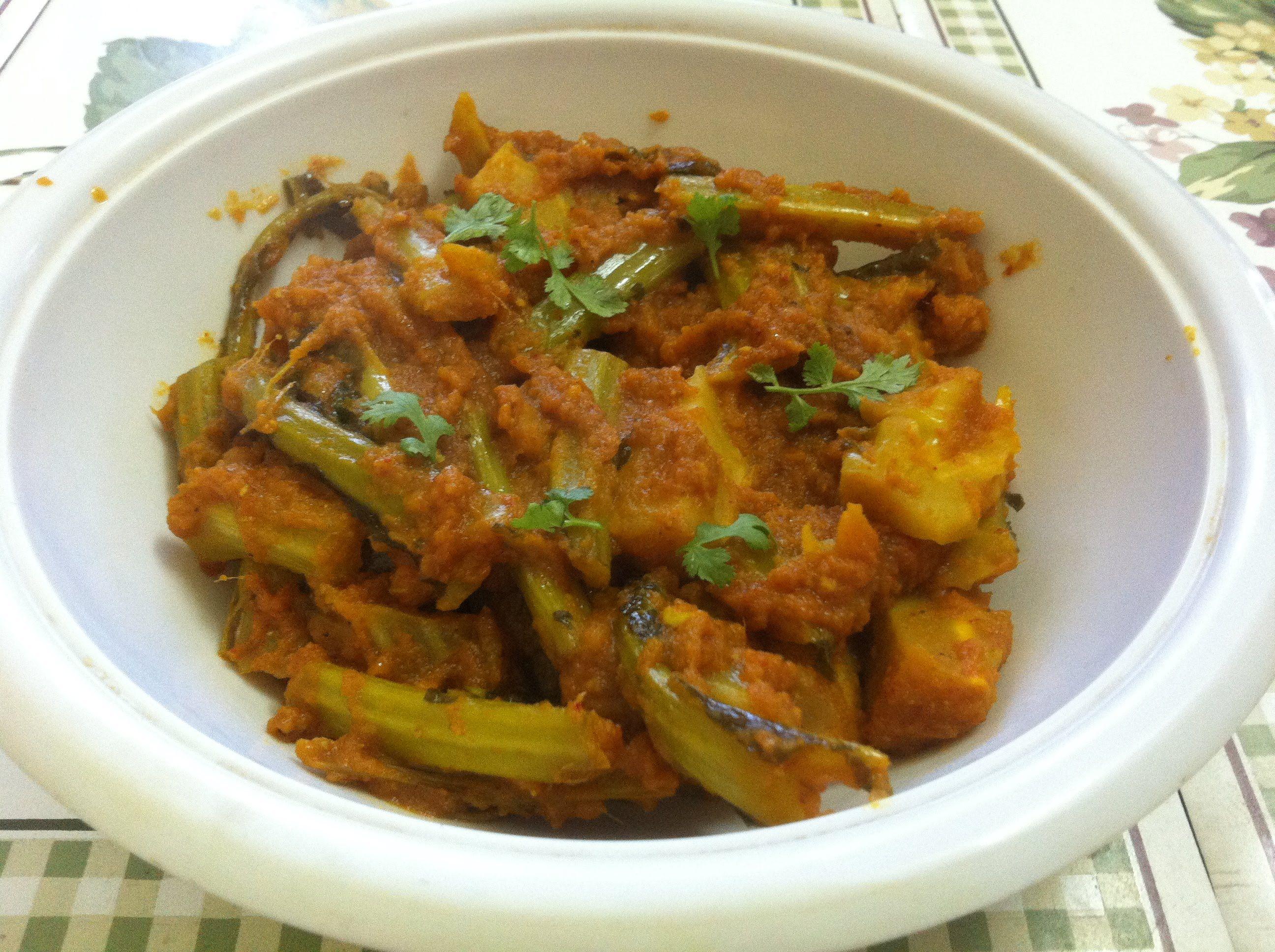 Gobhi ke danthal ki sabzi cauliflower stalks vegetable indian gobi ke danthal ki sabzi cauliflower stalks vegetable in hindi with english subtitles forumfinder Choice Image
