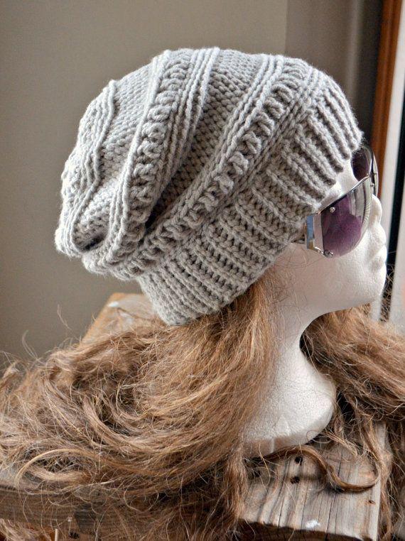 Crochet Pattern - Everly Slouch Hat patrón... Este listado está para ...
