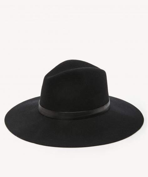 Sole Society Wide Brim Wool Hat 7d322d11e0c