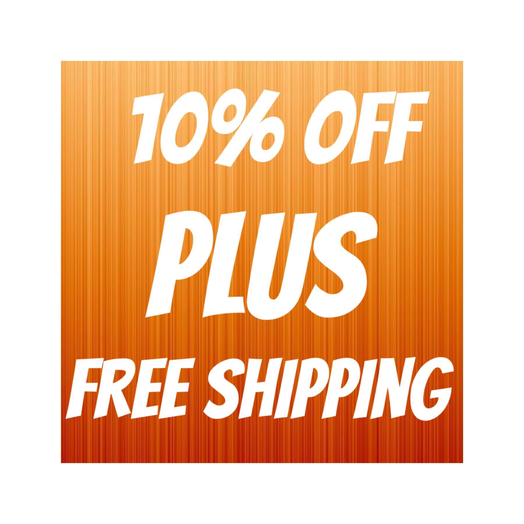Only 2 More Days To Get 10 Off Plus Free Shipping For Follow My