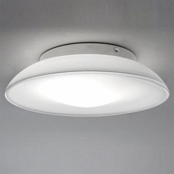 Lunex Wall Light Or Ceiling Light By Artemide Lighting Ylighting 15 4 Diam X 4 H With 1x26watt Cfl Or 16 5dia Wall Ceiling Lights Wall Lamp Ceiling Lights