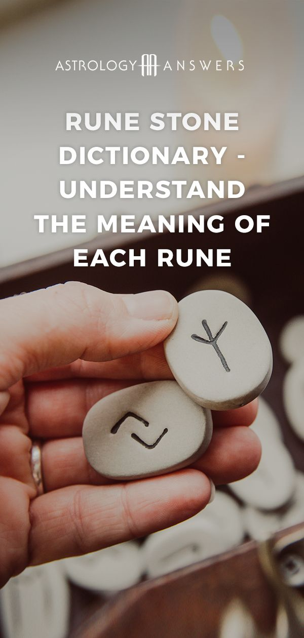 Rune Stone Dictionary - Understand The Meaning of Each Rune