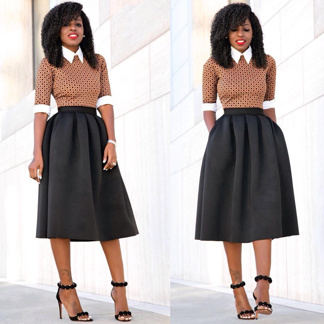 Loft324 Full Skirt Layered On Diamond Print Dress Link In Bio For More Details