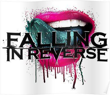 'falling in reverse lips' Poster by nuwandas