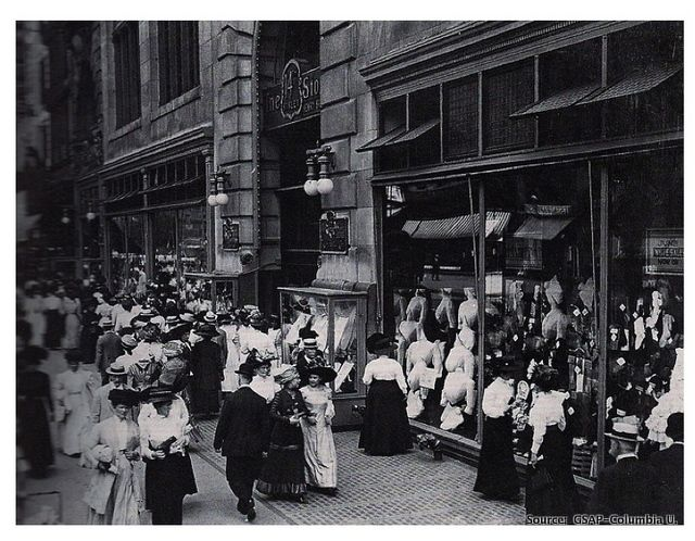 Gilded Age NYC, Henry Siegel's Department Store c.1900 ...