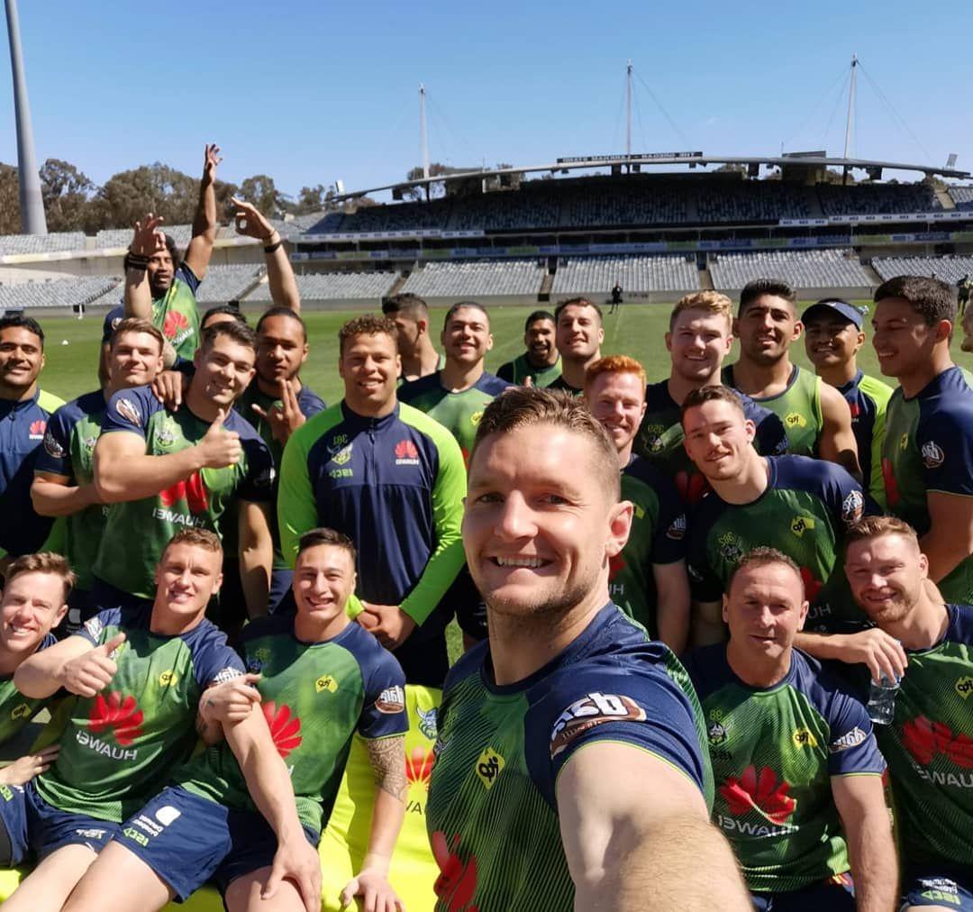 Squad Weareraiders Wearecbr Nrlgf Raiders Rugby League Nrl