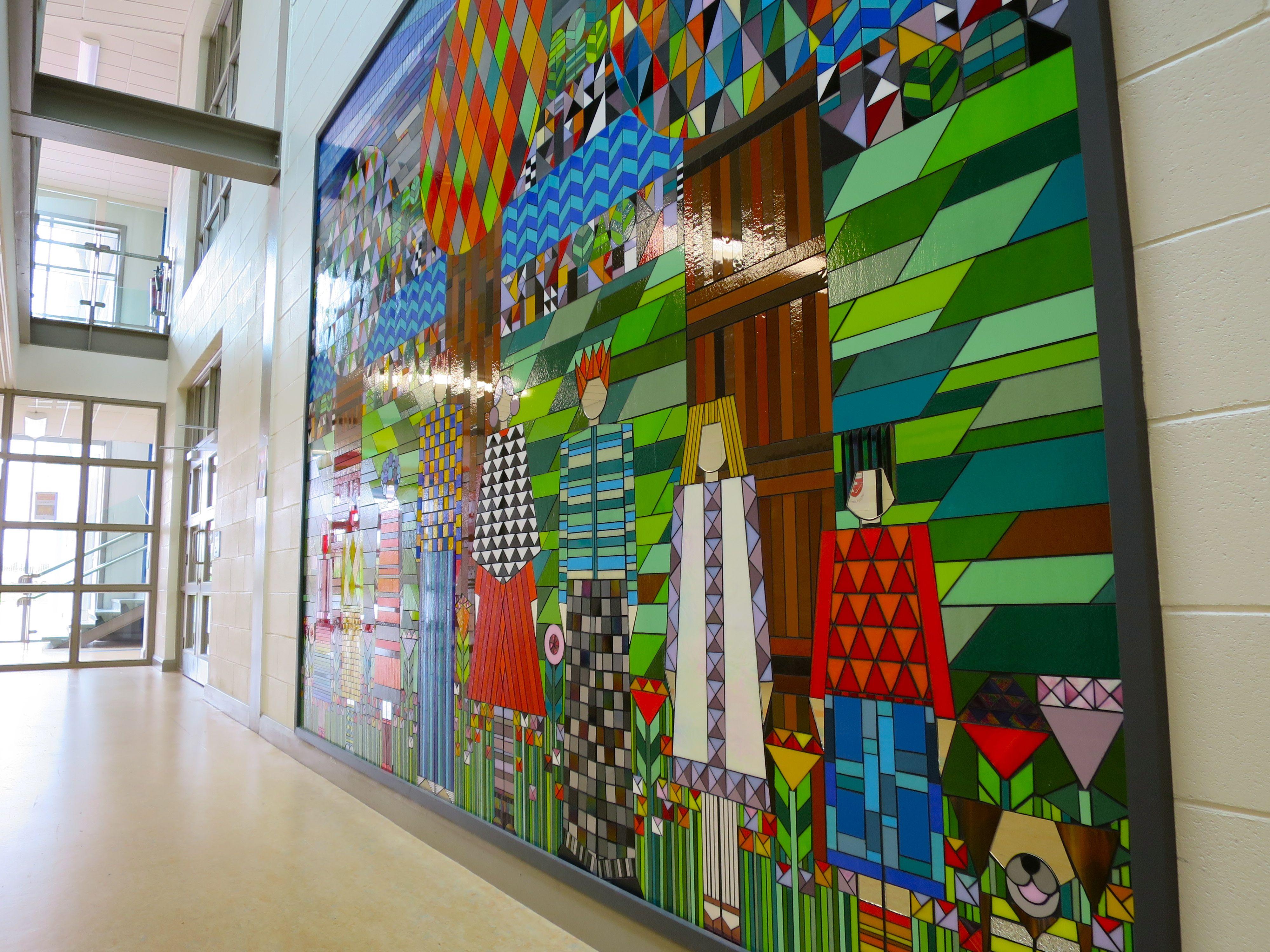 Ennis National School Mosaic:  Detail 4