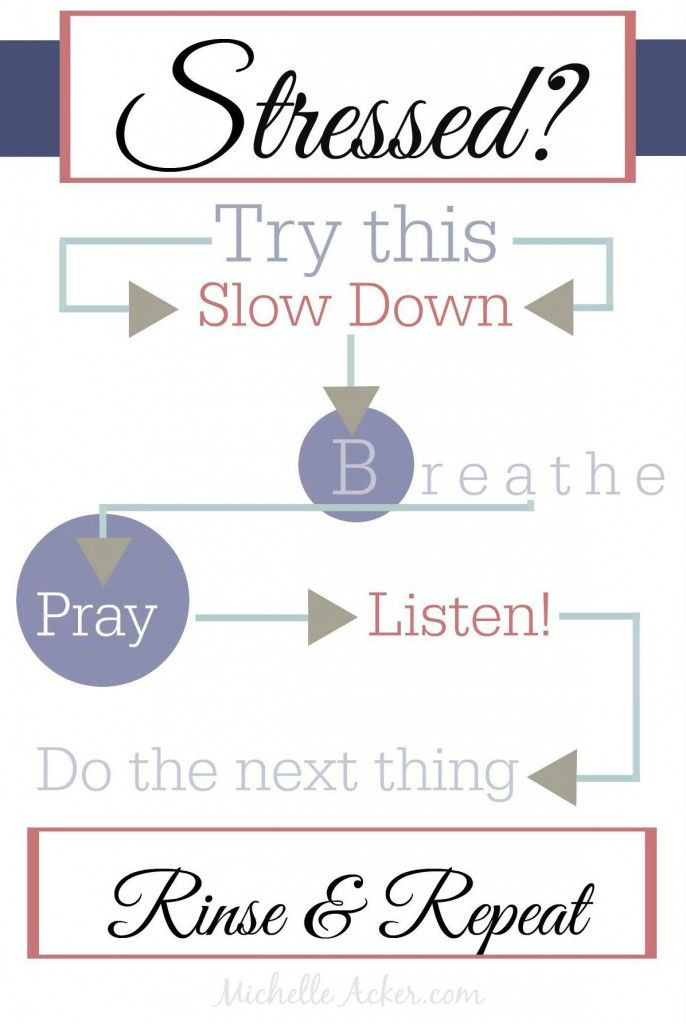 Stress Management via Michelle Acker .com