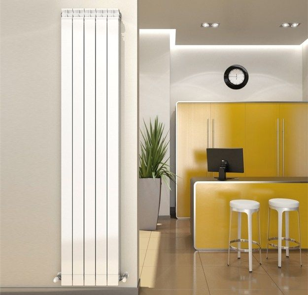 radiateur d coratif basse temp rature eau chaude en aluminium garda dual 80 fondital. Black Bedroom Furniture Sets. Home Design Ideas