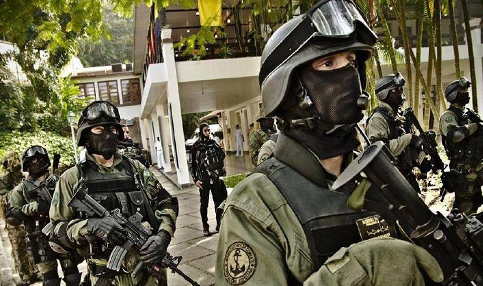 Brazillian Navy GRUMEC, navy special unit.
