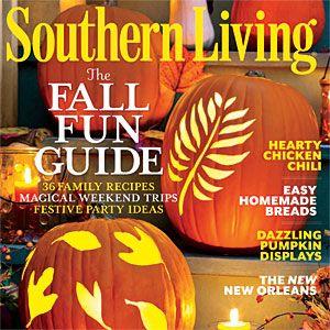 Southern Living Magazine October Issue 2013 Nashville Tenn. Idea House farm house