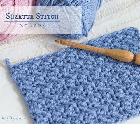 How To: Crochet The Suzette Stitch - Easy Tutorial | Mantita bebe ...