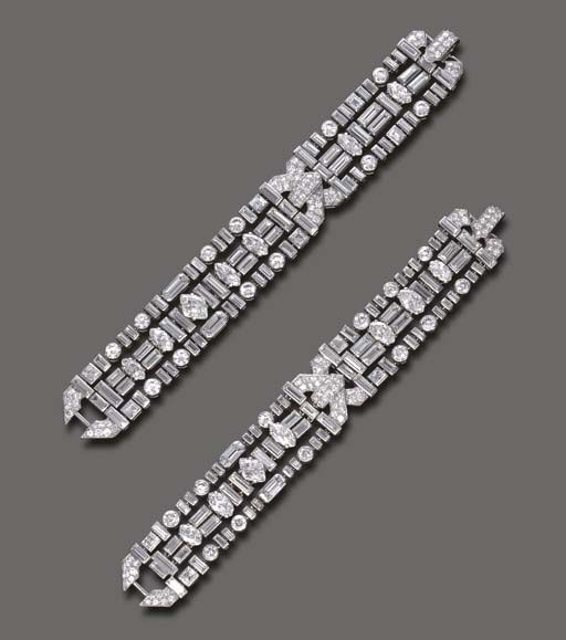 milano round bracelet tennis baguette golden and diamond