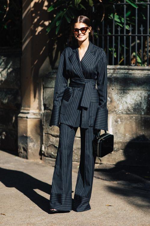 Street style à la Fashion Week Croisière 2019 de Sydney