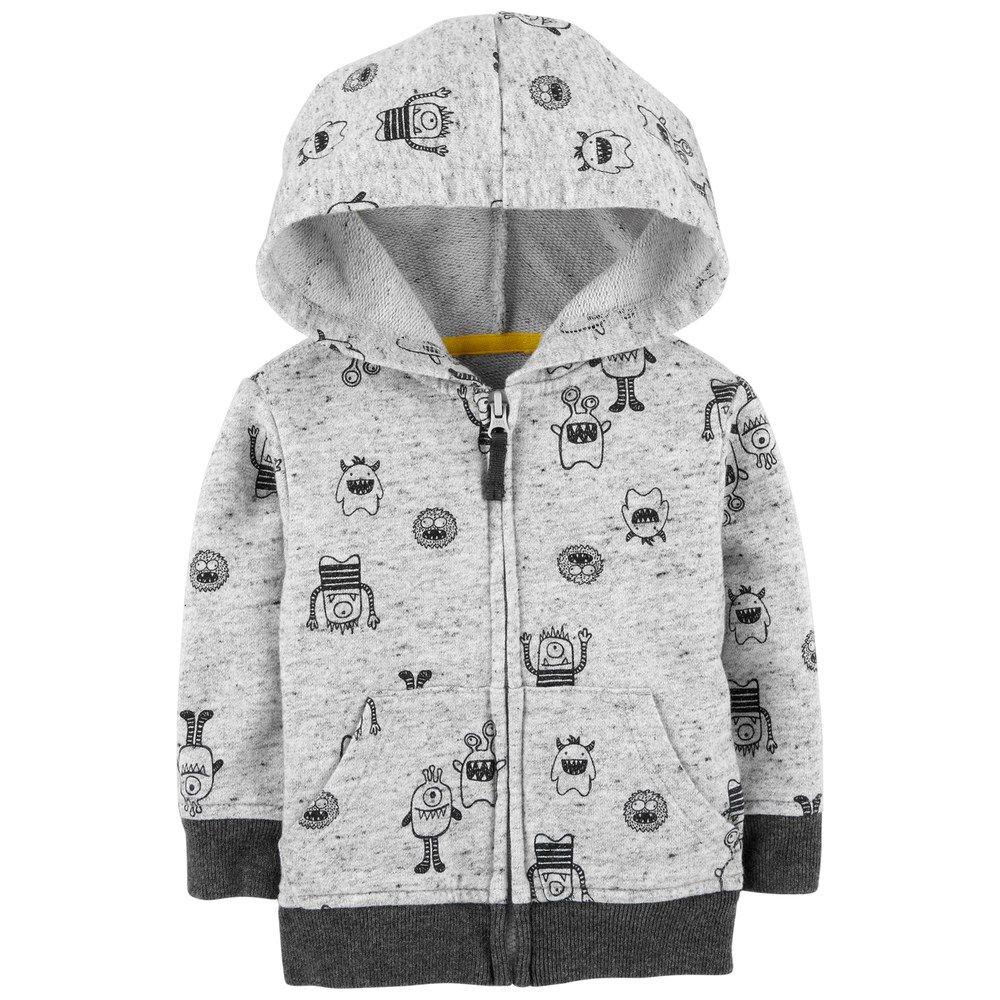 Baby Boy Oshkosh B Gosh Monster Zip Hoodie Boys Summer Dress Clothes Boy Outfits Boys Shopping [ 1000 x 1000 Pixel ]