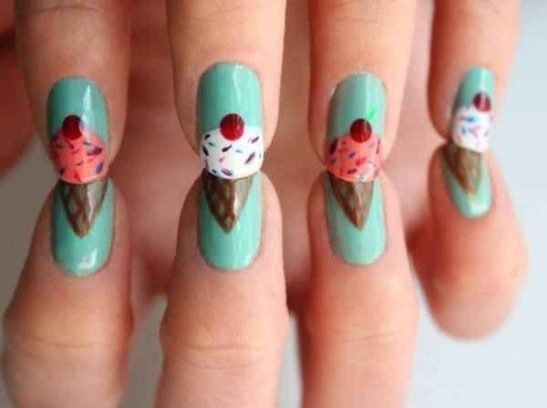 28 Colorful Nail Art Designs That Scream Summer Beauty Pinterest
