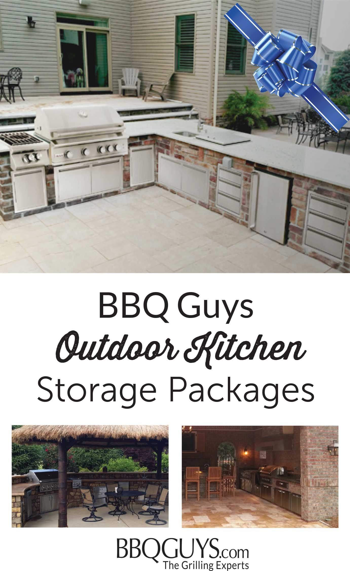 Maximize your budget with BBQGuys Outdoor Storage components. Pick ...