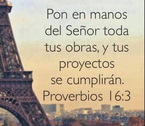 """Provérbios 16:3 """"Consagre ao Senhor tudo o que você faz, e os seus ..."""