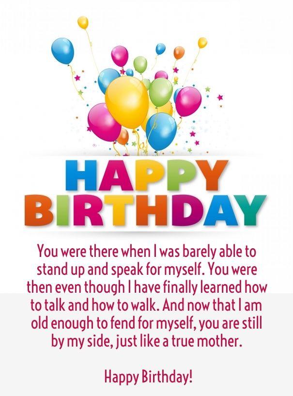 funny happy birthday mom quotes … | mom\'s birthday | Pinterest ...