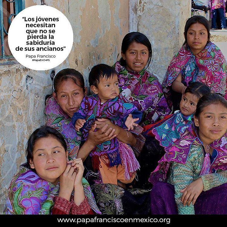 Jóvenes en Chiapas #franciscohermanoyaeresmexicano #jovenesconelpapa #papaenchiapas