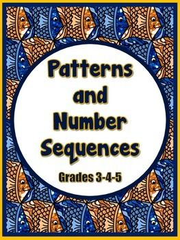 This product contains 35 no prep printables reinforcing the concepts of sequence and number patterns.