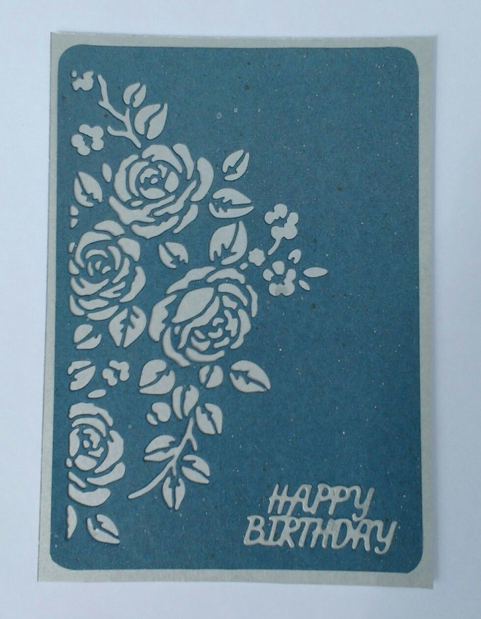 Birthday card made using sizzix mixed media cf tim holtz