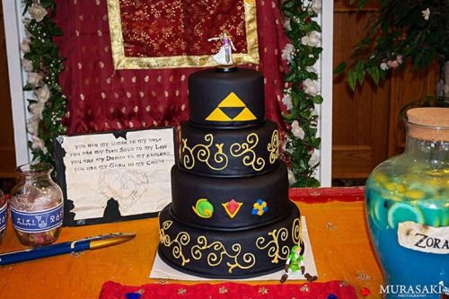 Legend Of Zelda Wedding Cake Cake Decorating Wedding Zelda Cake