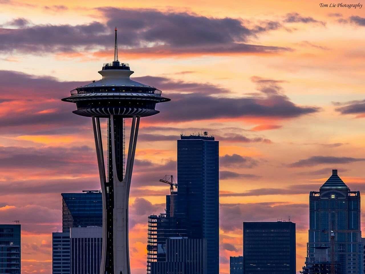 Pin by KarnaJo Pfalzgraf on Washington Seattle skyline