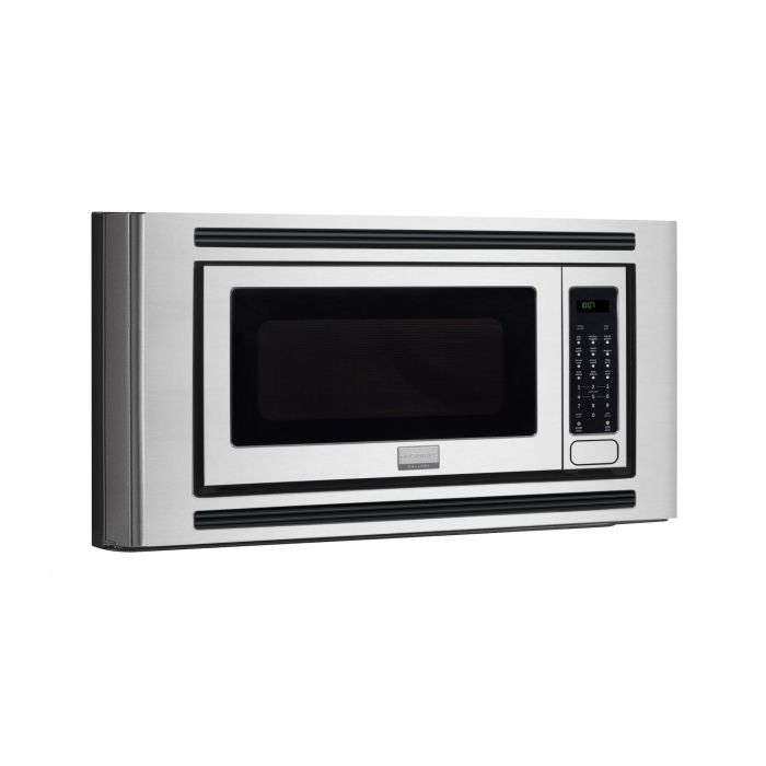 Frigidaire Stainless Gallery 2 Cubic Foot Built In Microwave 0 Cu Ft Silver Steel