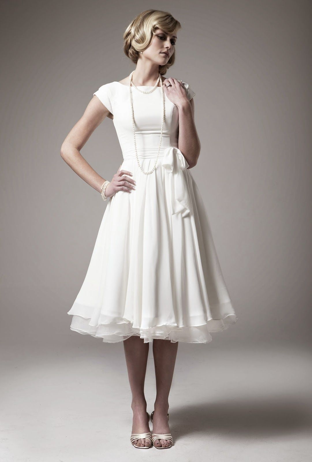 Casual Wedding Dresses 2nd Marriage | Little Wedding | Pinterest ...