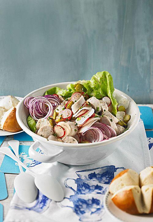 Rettich - Weißwurst - Salat #octoberfestfood