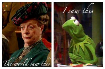 Dowager vs Kermit