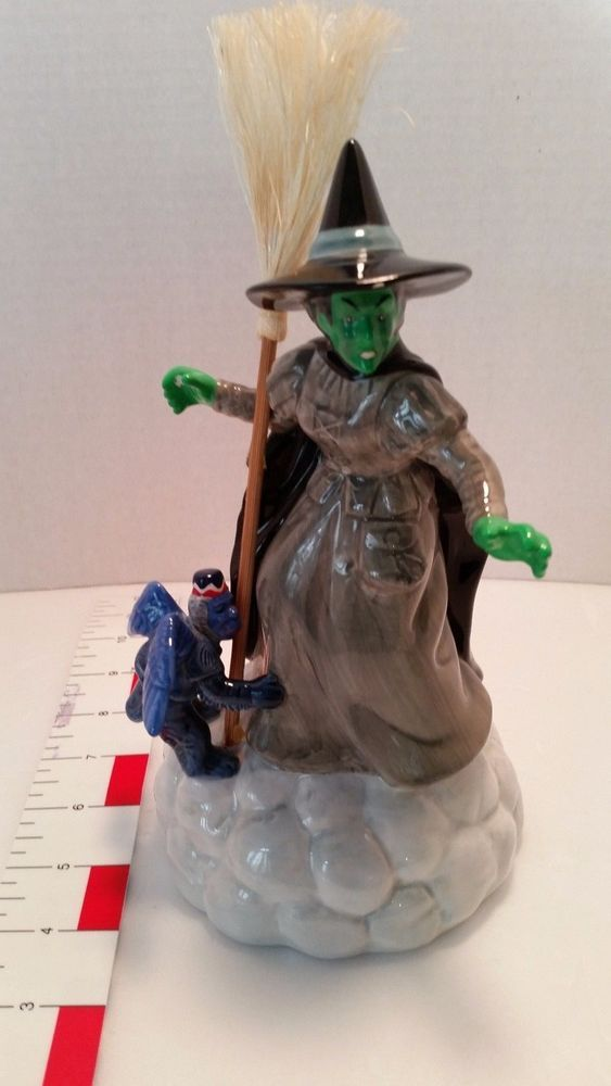 Enesco Music Box Wizard of Oz Wicked Witch Musical Figurine 1999