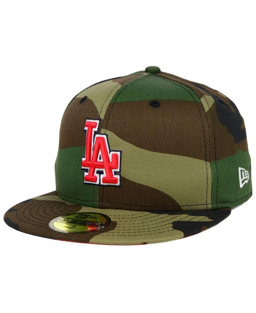 New Era Los Angeles Dodgers Under Woodland 59FIFTY Cap