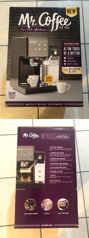 Espresso and Cappuccino Machines 38252: Mr. Coffee One-Touch Coffeehouse Espresso And Cappuccino Machine -> BUY IT NOW ONLY: $190 on #eBay #espresso #cappuccino #machines #coffee #coffeehouse #machine #cappuccinomachine