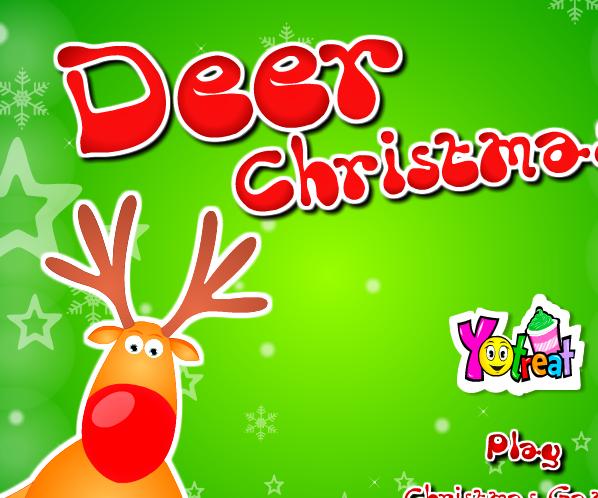 Play Deer Christmas Game