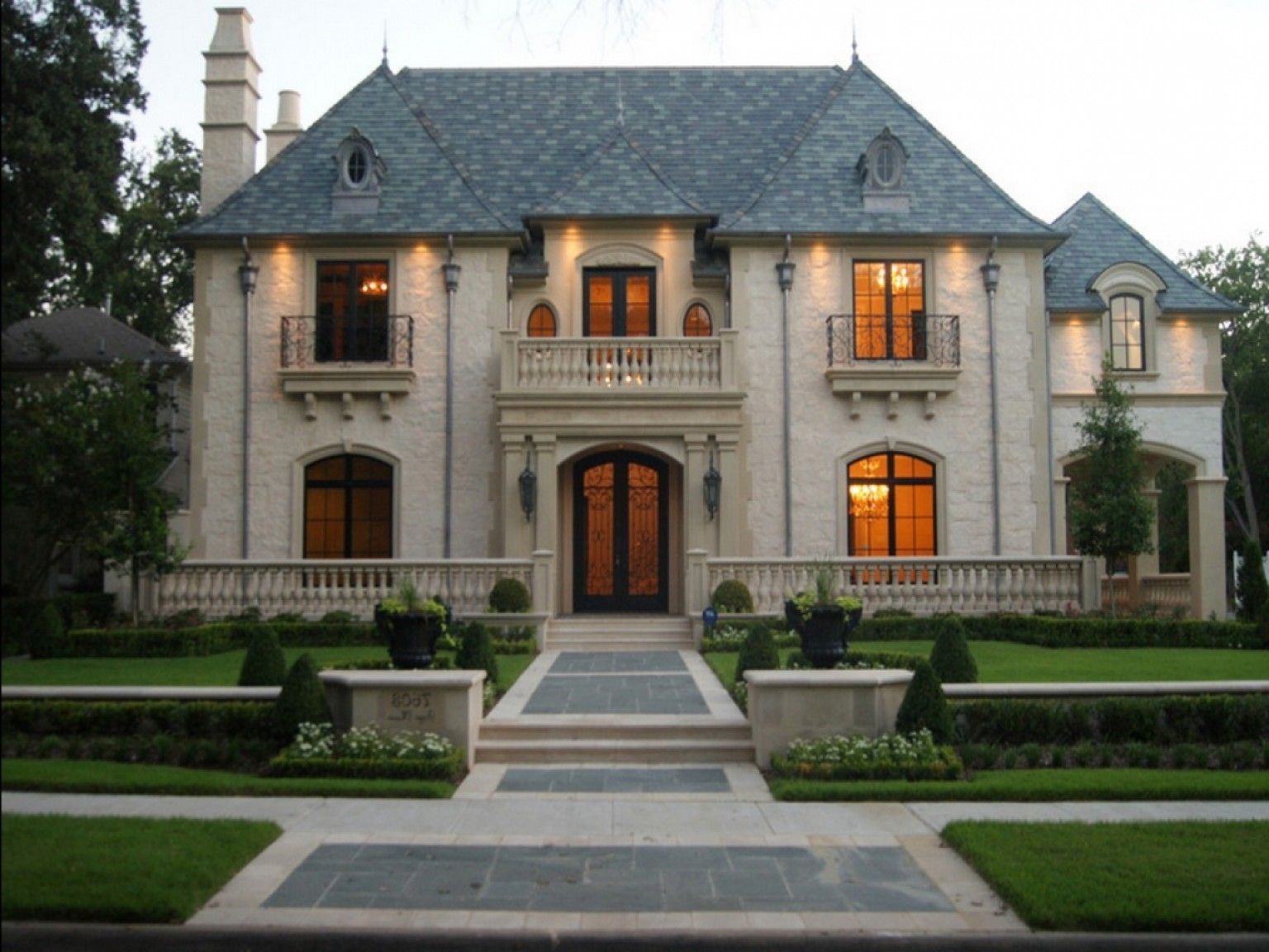 Fbecbf French Provincial Style Homes Architecture
