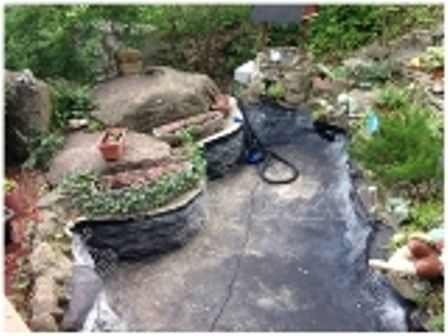Pondpro2000 Pond liner paint as the best one   Fish Pond Repair in