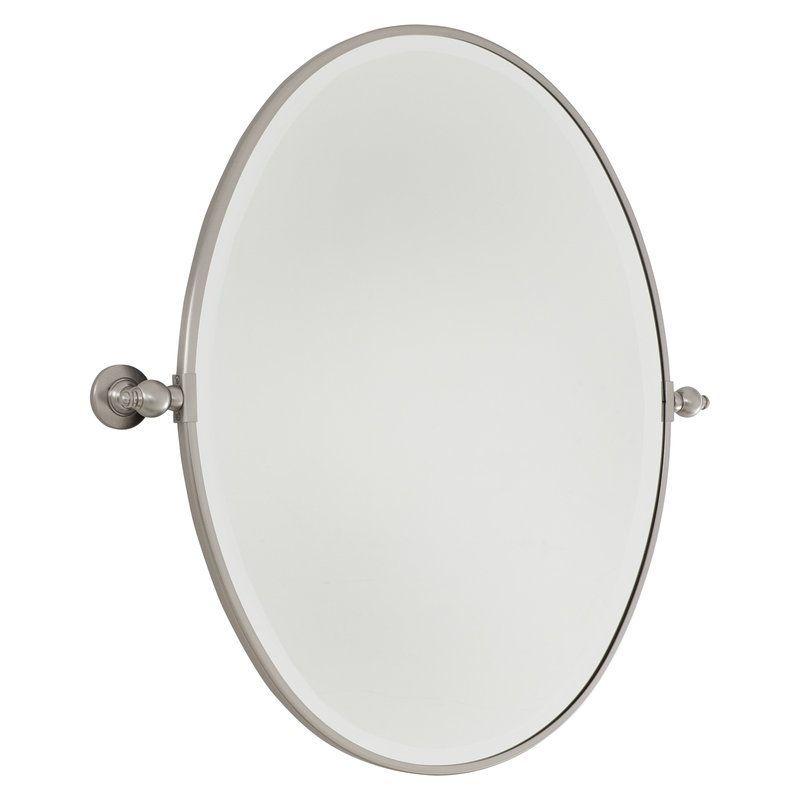 View The Minka Lavery Standard Oval Pivoting Bathroom Mirror At - Minka lavery bathroom mirrors