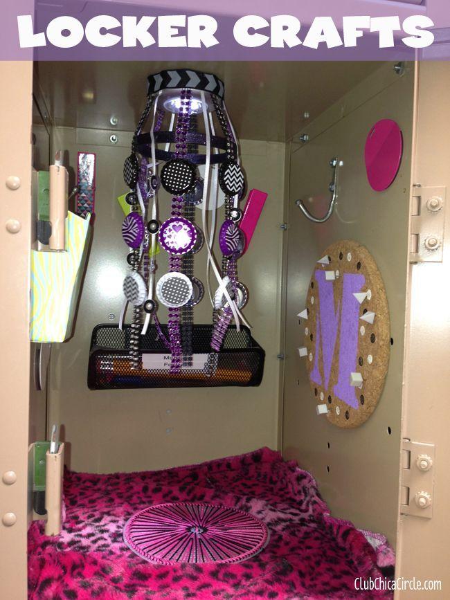 Tween Locker Craft Ideas   Club Chica Circle   Where Crafty Is Contagious