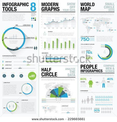 World map infographics business visualization vector elements world map infographics business visualization vector elements elements for graphic presentation in newspapers gumiabroncs Image collections