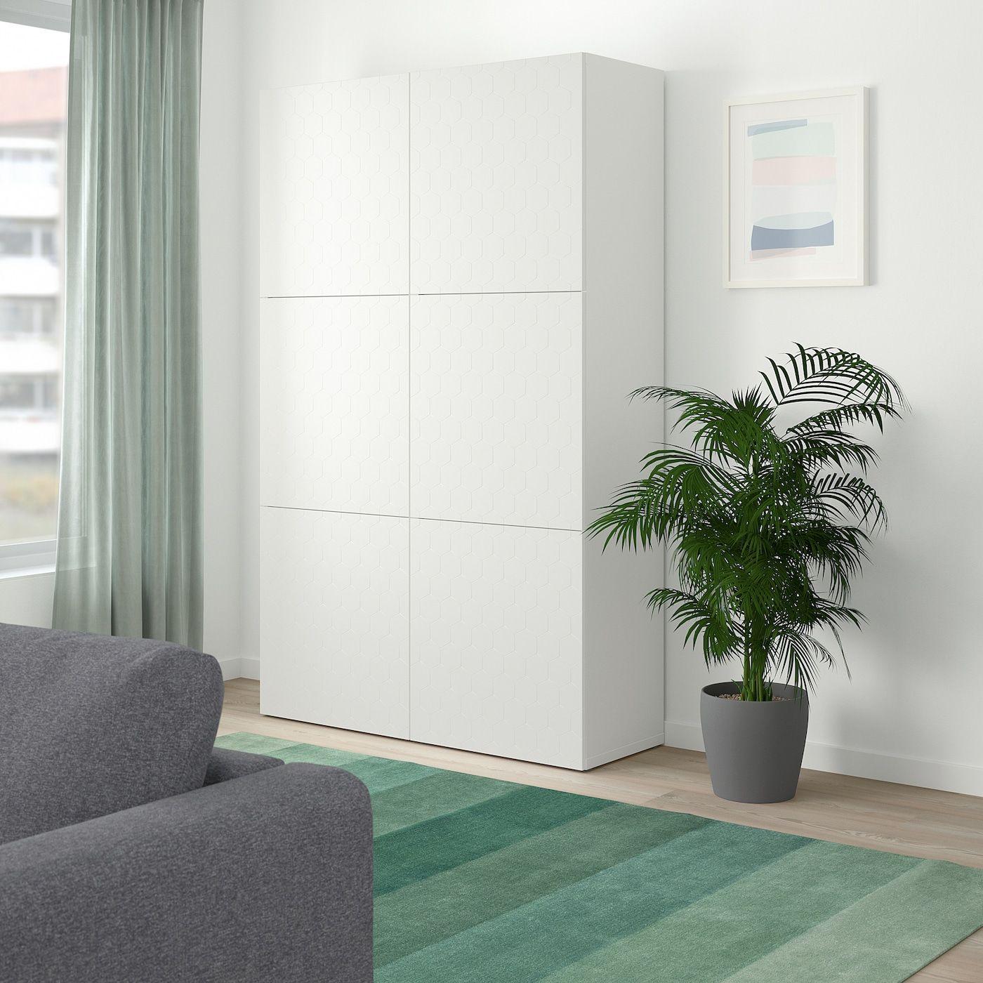 IKEA BESTA Storage unit, white