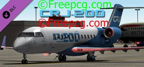X Plane 10 AddOn Aerosoft CRJ 200 Free Download PC Game