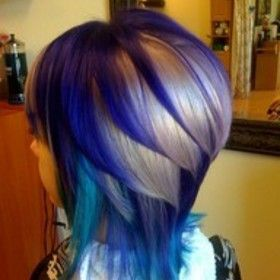would never do this with these colors but thinking red brown and blonde would be awesome!!